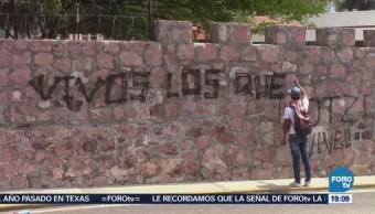 Normalistas Realizan Pintas Durante Protesta Chilpancingo Guerrero