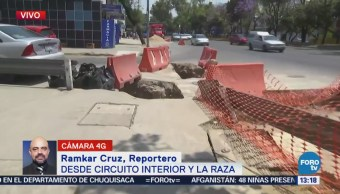 Obras Inconclusas Afectan Circuito Interior Cdmx