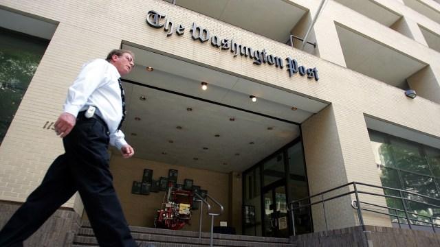 "Donald Trump califica de ""basura inventada"" al diario The Washington Post"