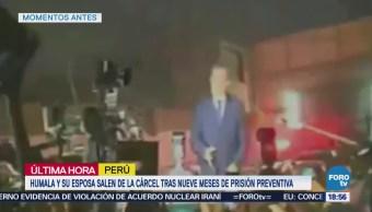 Ollanta Humala Esposa Salen Prisión Perú