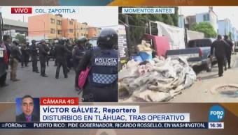Operativo Tláhuac Provoca Gresca Hay 6 Detenidos