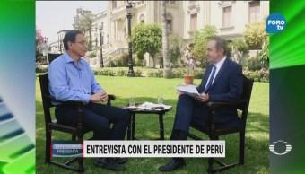 Andrés Oppenheimer Presidente Perú Martín Vizcarra