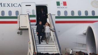 EPN llega a Ámsterdam para visita oficial