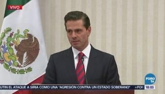 Enrique Peña Nieto Balance Cumbre Américas Perú