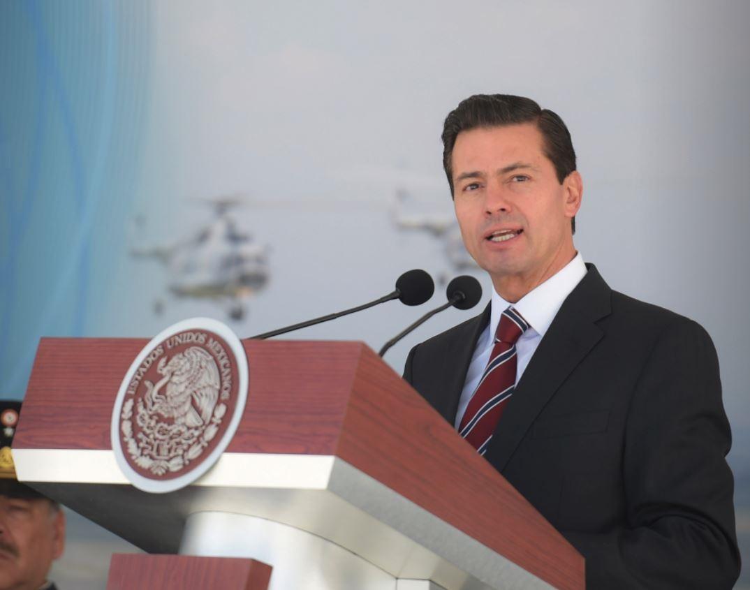Posición de México se fijará cuando Trump aclare despliegue militar: EPN