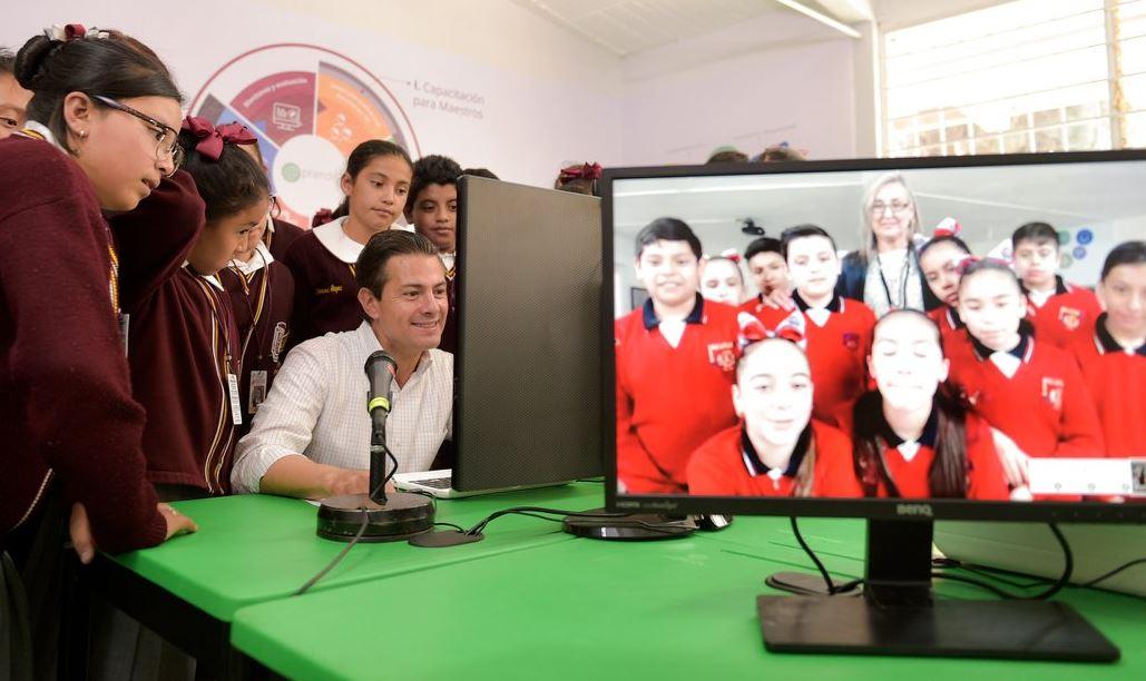 Llama Peña Nieto a seguir defendiendo la Reforma Educativa
