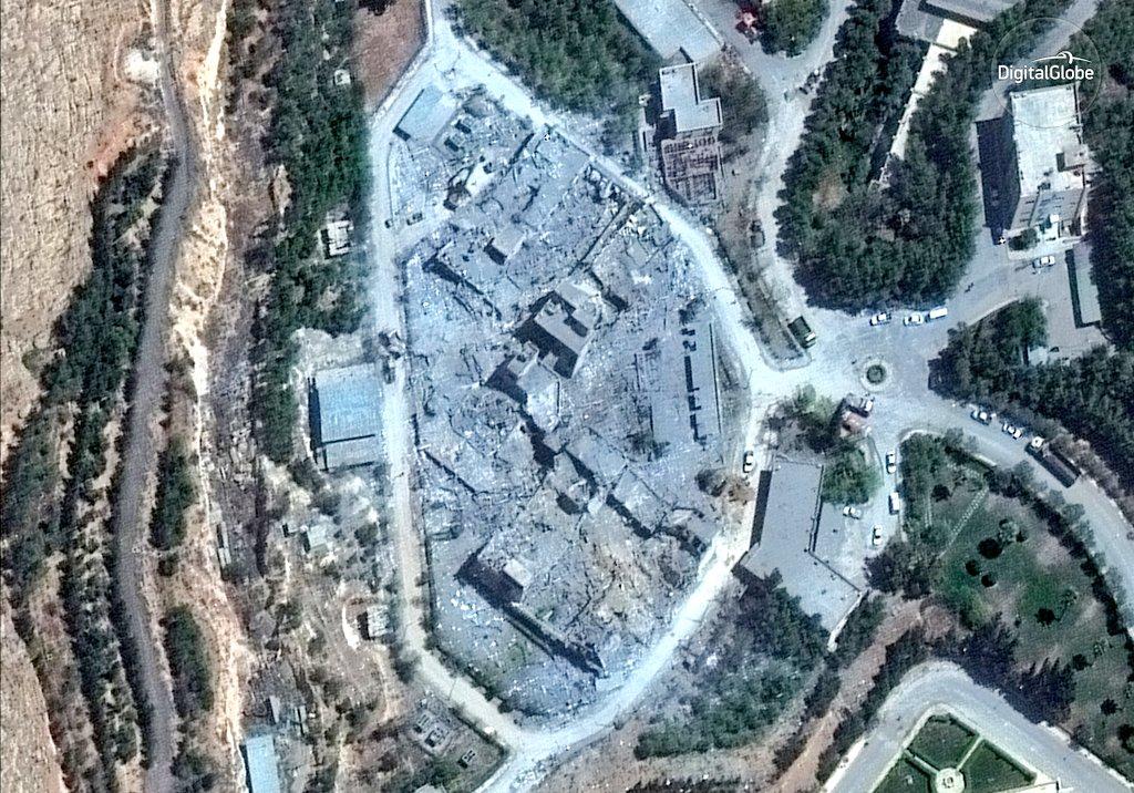 Pentágono confirma gas sarín ataque Siria