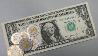 Peso retrocede frente al dólar por comentarios de Donald Trump sobre TLCAN