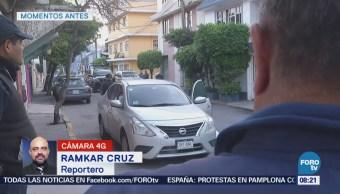 Policía frustra robo de vehículo en Naucalpan