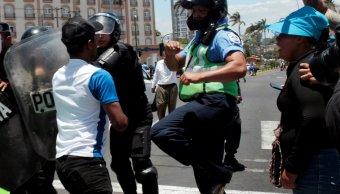 Nicaragua reporta dos policías muertos y 121 heridos protestas