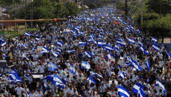 Policía de Nicaragua afirma que liberó a detenidos durante protestas