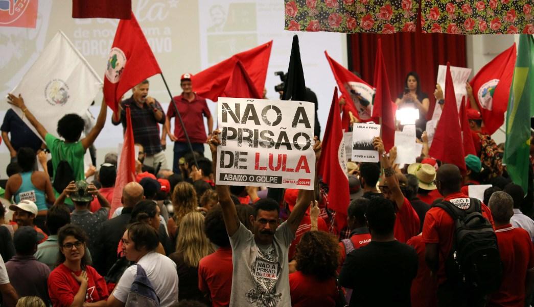 PT convoca movilización orden prisión Lula da Silva