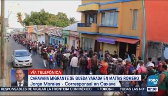 Queda varado el 'Viacrucis del Migrante' en Matías Romero, Oaxaca