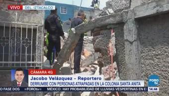 Reportan Explosión Colonia Santa Anita Varios Lesionados