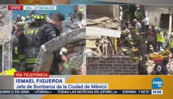 Reportan estables a víctimas de explosión en Santa Anita, delegación Iztacalco