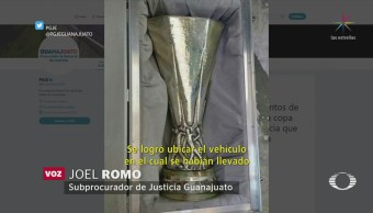 Recuperan Copa Europa League Robada Guanajuato