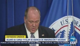 Renuncia Jefe Operativos Migratorios Estados Unidos