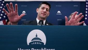 Paul Ryan dejará la Cámara de Representantes en noviembre