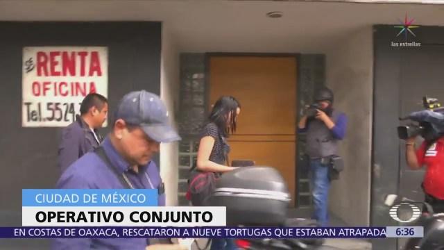 Rescatan a 17 mujeres que eran víctimas de explotación sexual en CDMX