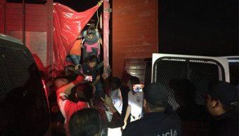 rescatan a 191 migrantes en veracruz e hidalgo