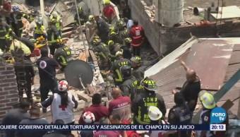 Noticias, Televisa News, Rescatan, cuatro personas, explosión, Iztacalco