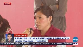 Respalda UACM a estudiantes agredidos en la delegación Gustavo A. Madero