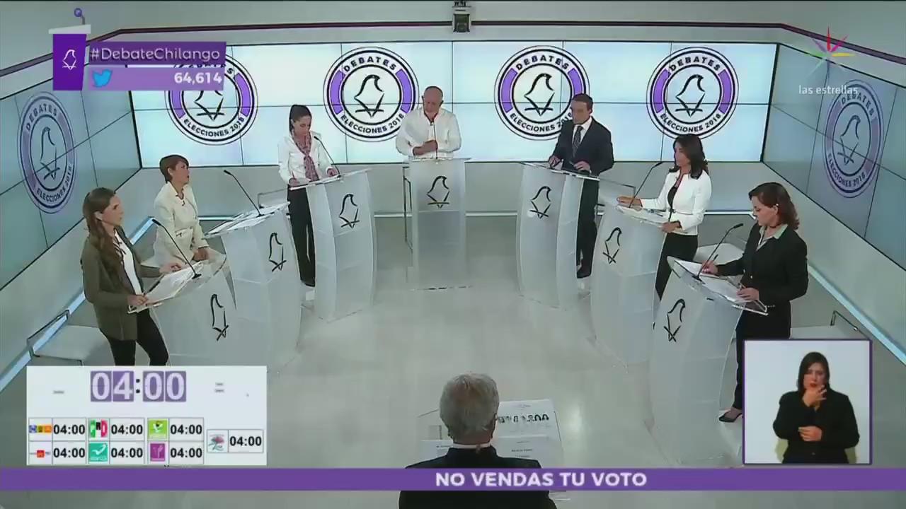 Resumen del primer debate entre candidatos al Gobierno CDMX