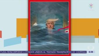Revista Time dedica portada a Trump y su escándalo con 'Stormy Daniels'