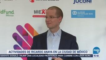 Ricardo Anaya Firma Compromisos Infancia