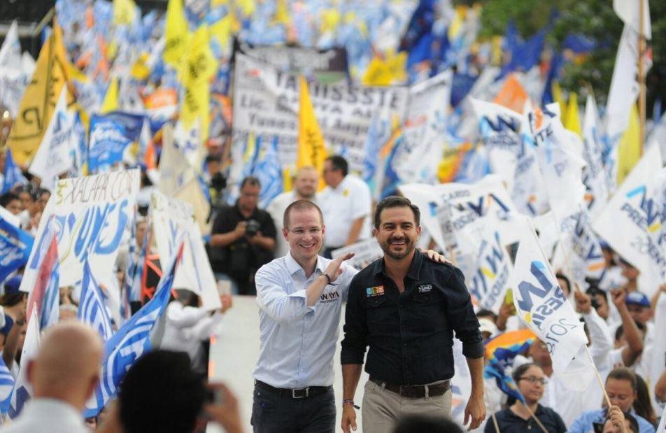 Anaya realiza campaña en Quintana Roo, Puebla y Veracruz