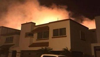 Incendios afectan pastizales en Alvarado, Veracruz; no hay lesionados
