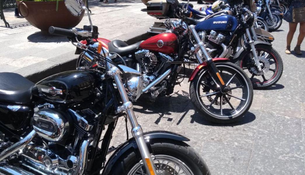 Celebran el Día Internacional del Motociclista en la Ciudad de México