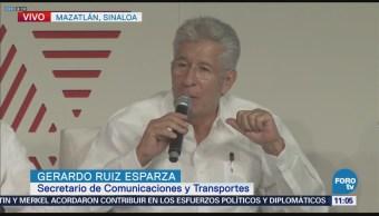 Ruiz Esparza participa en panel 'Conectividad aérea de México' en Tianguis Turístico