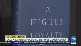 Sale Venta Polémico Libro James Comey
