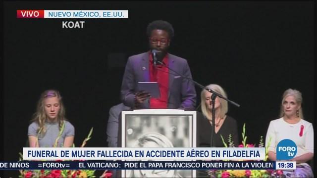 Realizan Funeral Jennifer Riordan Nuevo México, Estados Unidos