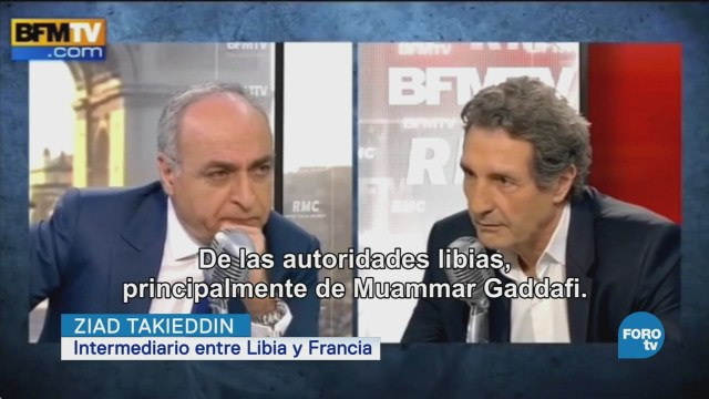 Sarkozy acusado de recibir financiamiento libio