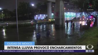 Se desborda el río San Buenaventura en Xochimilco