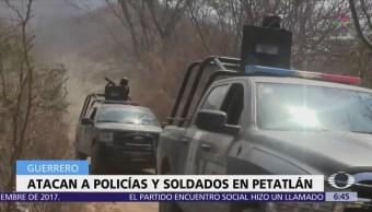Se registra nuevo ataque contra fuerzas de seguridad en Guerrero