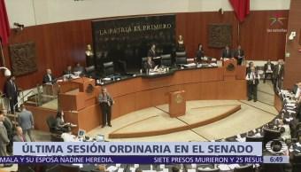 Senado concluye sesión sin eliminar fuero
