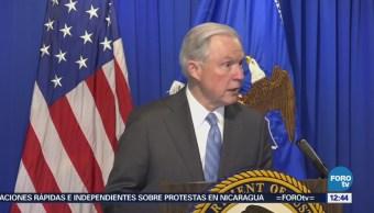 Sessions va contra la caravana migrante