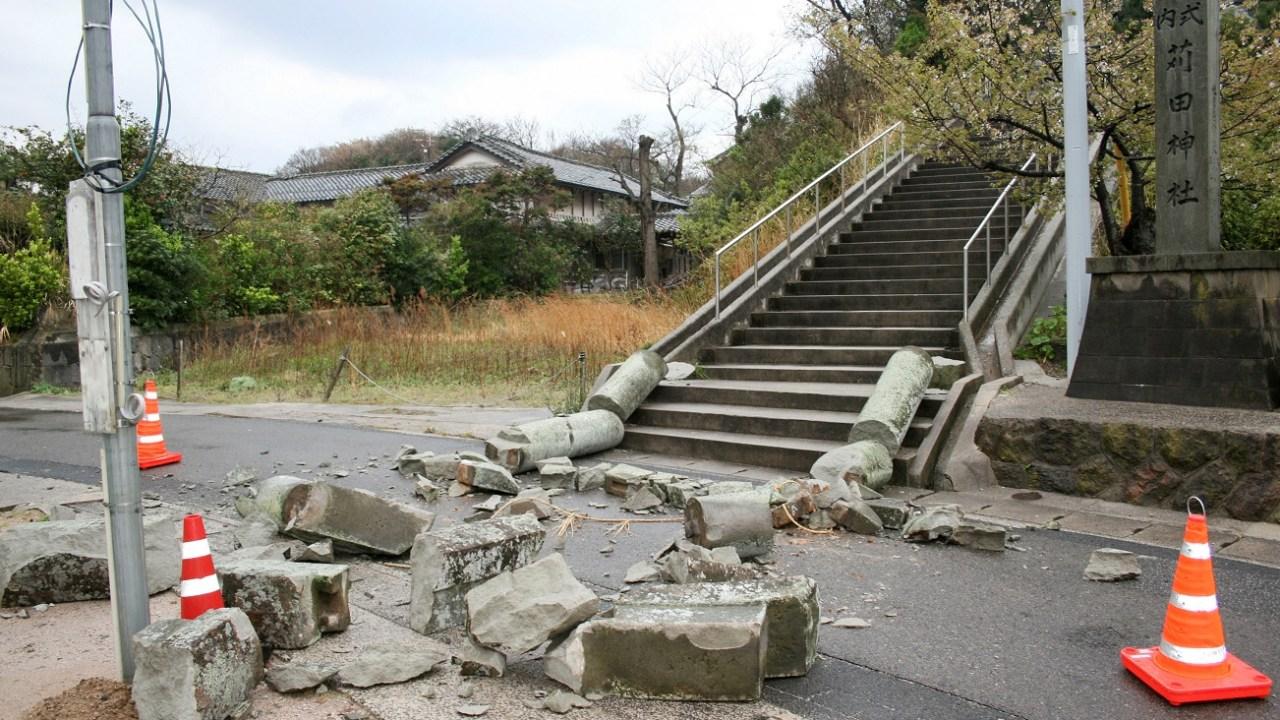 Terremoto de 6.1 grados en Japón deja 4 heridos y daños materiales