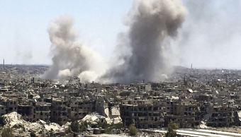 Fuerzas sirias continúan avanzando en zonas controladas por EI en Damasco