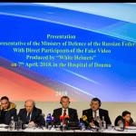 Rusia lleva a varios sirios a La Haya para 'demostrar' que no hubo ataque químico