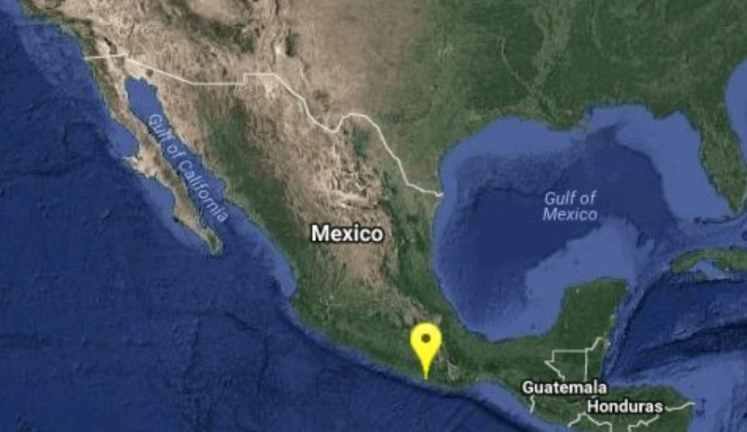Sismo de magnitud 4.2 sacude Pinotepa Nacional, Oaxaca
