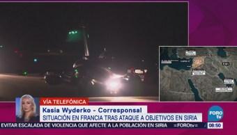 Situación en Francia tras ataque a objetivos en Siria