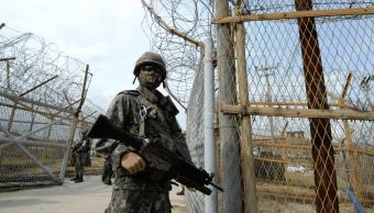 Eurodiputados visitan la frontera intercoreana antes de histórica cumbre