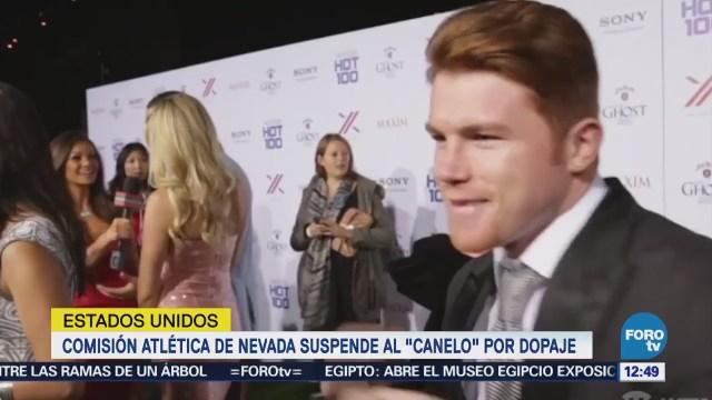 """Suspenden por seis meses al boxeador mexicano Saúl """"Canelo"""" Álvarez"""