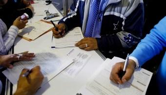Tasa de desocupación baja a 3.2% en marzo