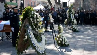 homenaje policias huachicoleros tlaxcala zacatelco comision