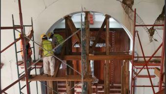 Concluye restauración de cuatro inmuebles históricos de Chiapas afectados por sismo